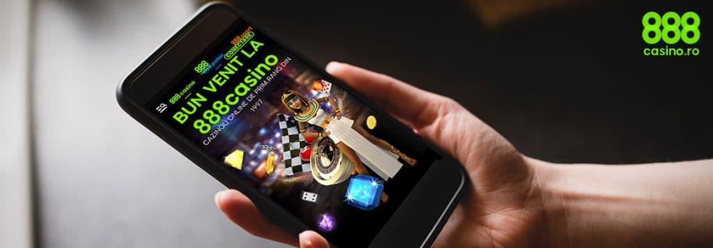 Aplicația mobilă 888 Casino