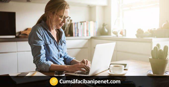 Bani online de acasa