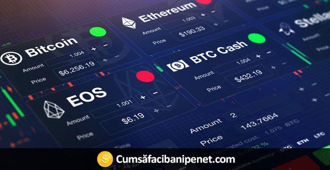 eToro introduce tranzacționarea cu criptomonede
