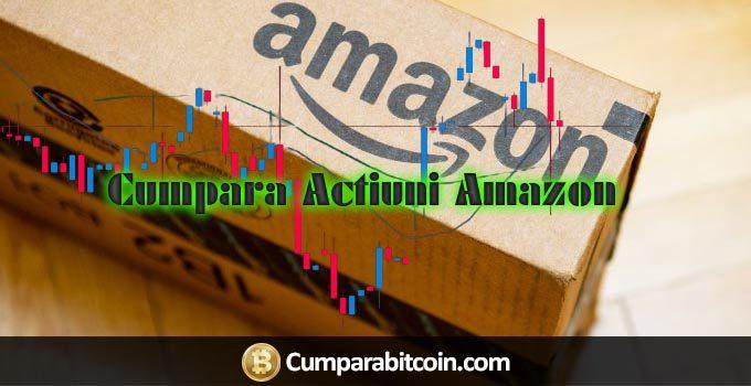 Cum să tranzacționați acțiuni Amazon online